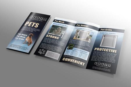Kraft Tri-Fold Brochure