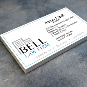 Bell Law Firm Business Cards